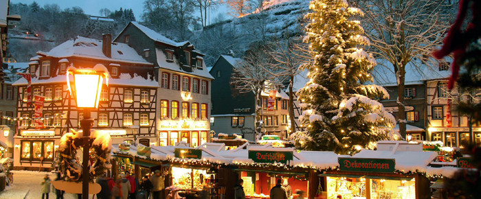 Kerstmarkt van monschau - Office de tourisme contamines montjoie ...